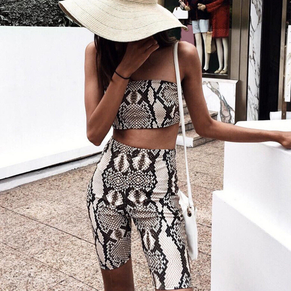 Women's Clothing Popular Brand Womens Summer Autumn Casual Sets Clothes Tube Top Shorts Bodycon Two Piece Outfits Short Sport Jumpsuit Sets Sunsuits Clothings