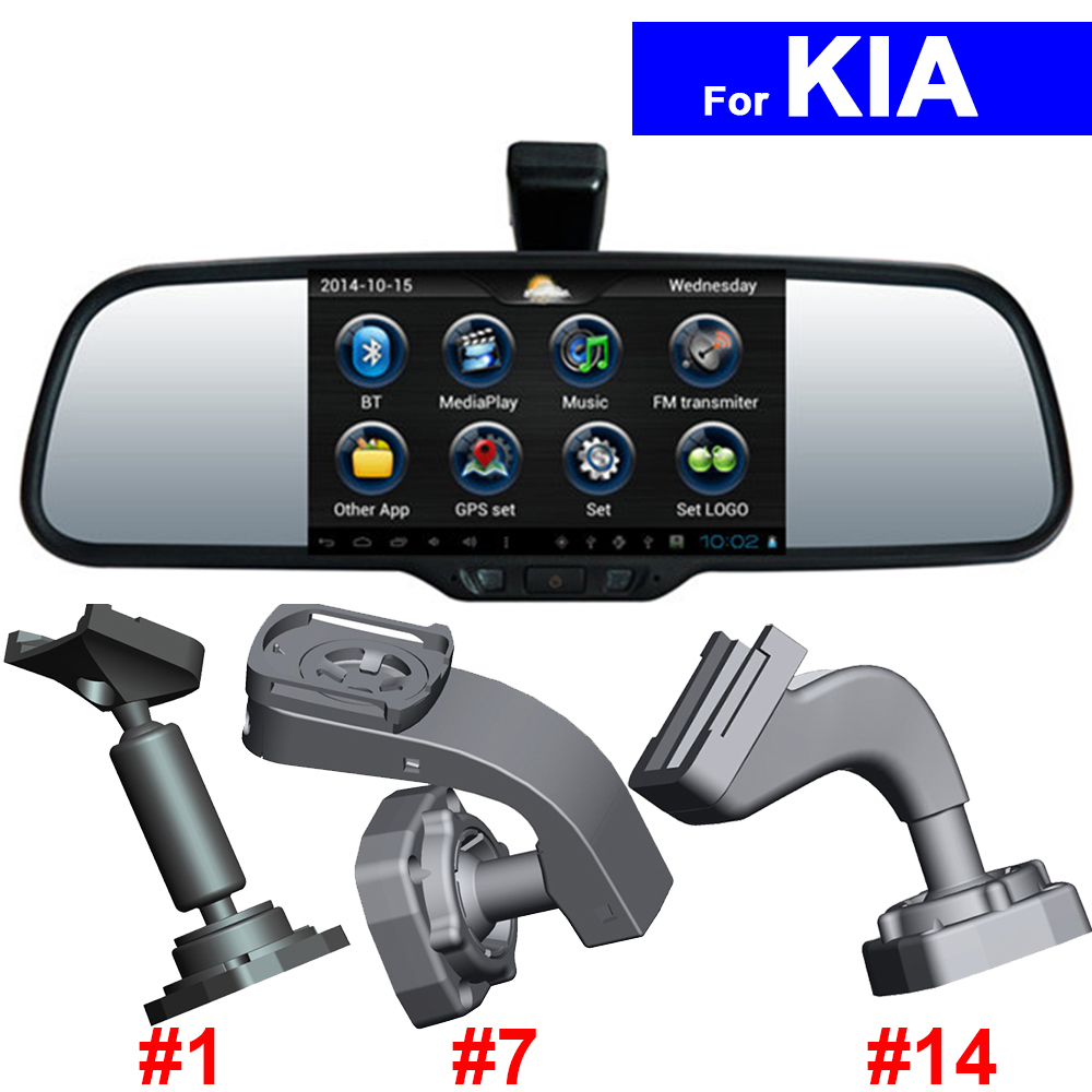 "5"" HD Car Rear View Mirror DVR GPS Bluetooth WIFI <font><b>for</b></font> <font><b>Kia</b></font> K2 K3 K4 K5 Sportage Rio Soul Forte Ceed Sorento Android Auto <font><b>Monitor</b></font>"