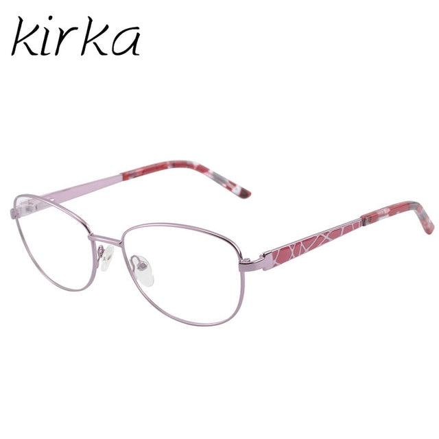 0bce45fcbe74 Купить Женские очки | Kirka Metal Eyeglass Woman Frame Golden ...