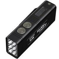 Новый NITECORE TM10K 10000лм CREE XHP35 HD светодиодный автоматический стеклоочиститель в комплекте 4800 мАч батарея Открытый охотничий фонарь