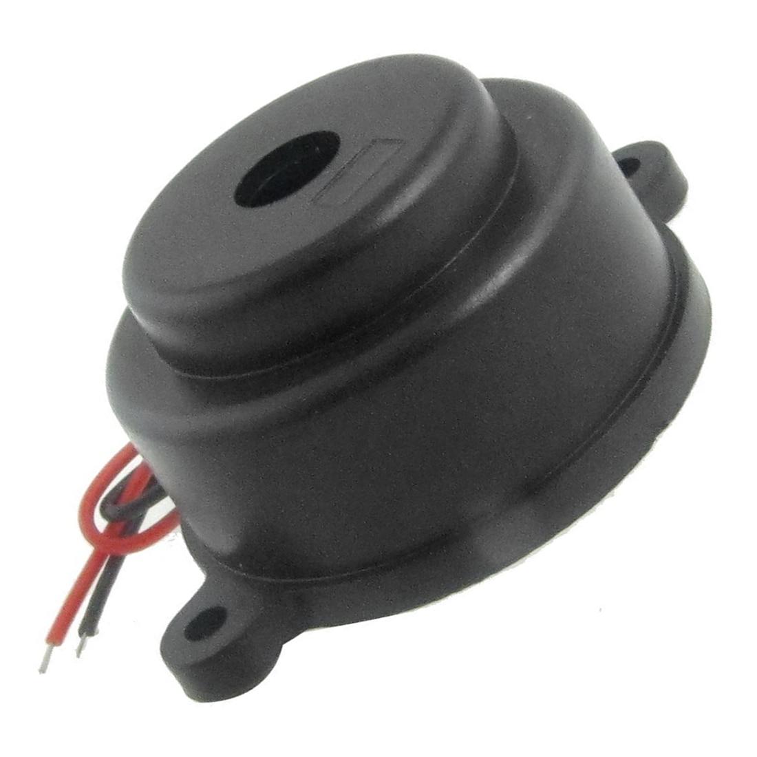 5 Packs LZQ-3022 DC12V 2 Wire Industrial Electronic Alarm Sound Buzzer 80dB
