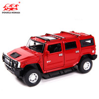 DoubleHorses Simulation Model Of 1 32 Car Hummer H2 Car Model Of Die Casting Alloy Boy