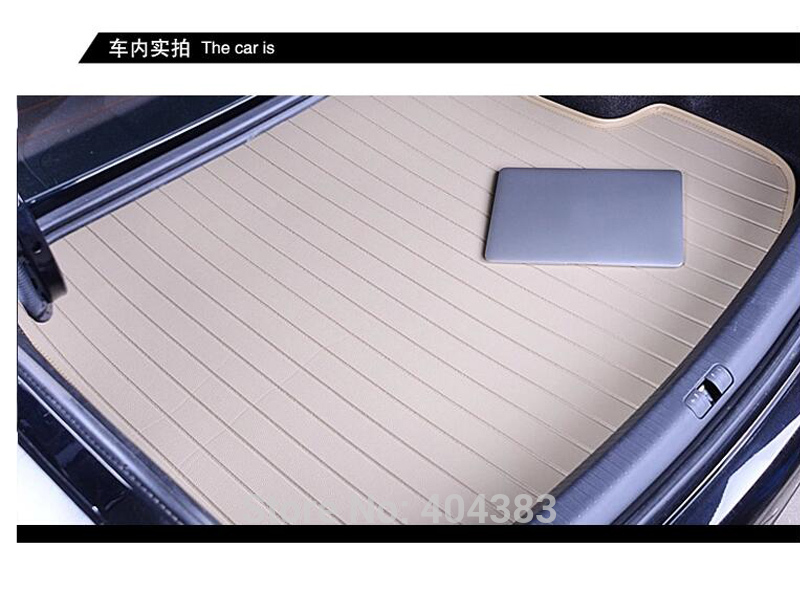 free shipping Custom fit car trunk mat for Chery QQ3 QQ6 A1 A3 A5 Tiggo Tiggos .... leather 3D car styling carpet cargo liner 3d car styling custom fit car trunk mat all weather tray carpet cargo liner for honda odyssey 2015 2016 rear area waterproof