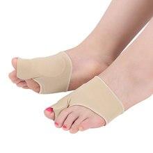 1Pair Big Bone Orthopedic Bunion Correction Pedicure Socks hallux valgus Corrector Toes Separator pedicura Foot Care Tool