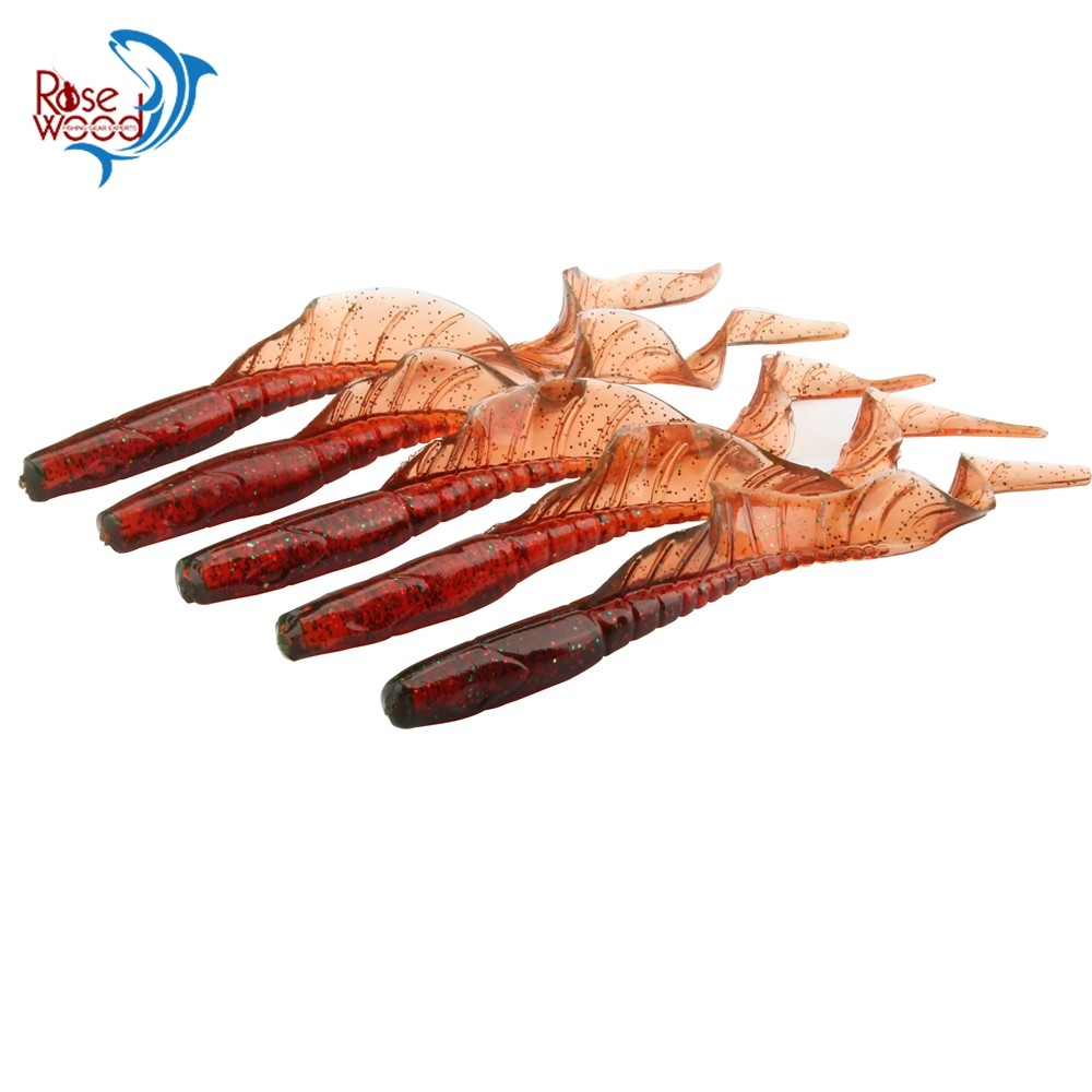 10pcsLot ROSEWOOD Classic Soft Lures 13cm 5-Inch Swimbaits Artificial Bait Silicone Lure Fishing Tackle Fishing Lures (9)