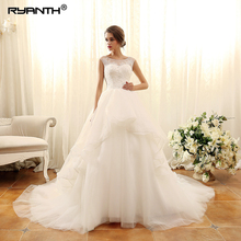 Ryanth Robe de mariee 2019 Ball Gown 1 Wedding Dress Train