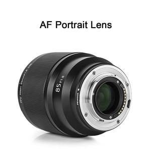 Image 3 - VILTROX 85MM F1.8 STM X mount Fixed Focus Lens AF Portrait Lens Full Frame Auto Focus Prime Lens for Fuji X Mount cameras