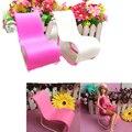 2017 das 1 Pcs Cadeira De Balanço Acessórios Para Barbies Boneca Casa Decoração Rosa Branca
