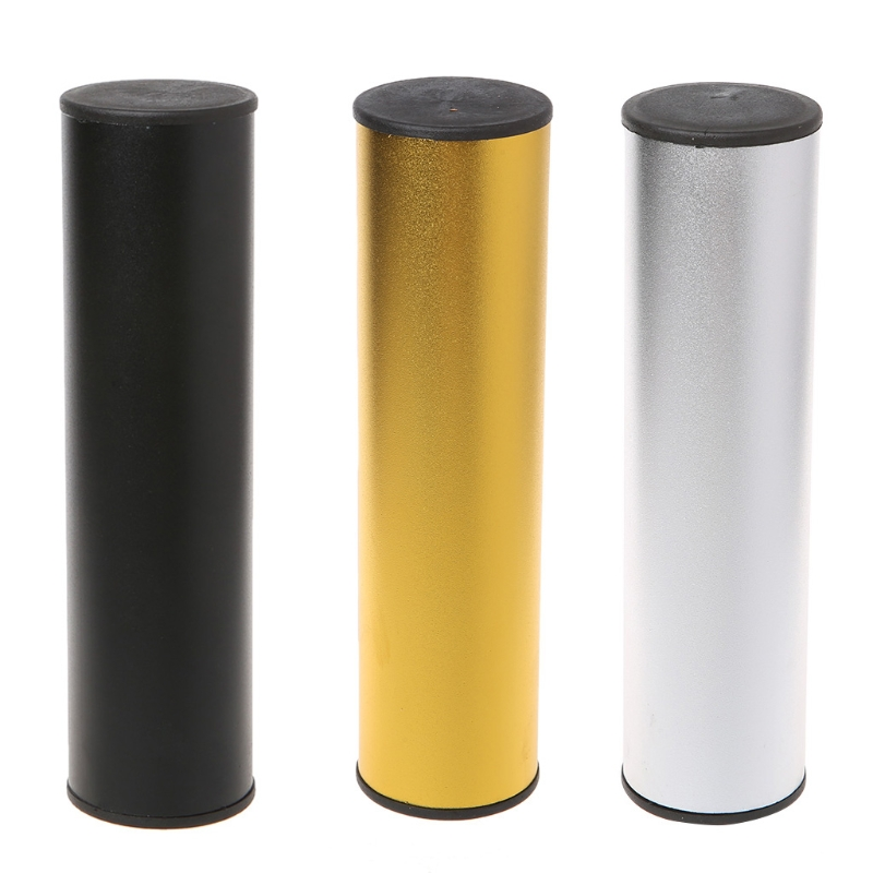 Pro Stainless Steel Cylinder Sand Shaker Rhythm Musical Instruments Percussion 3 Color Dropshipping