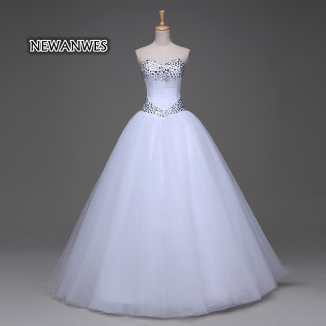Ball Gown Tulle Wedding Dress