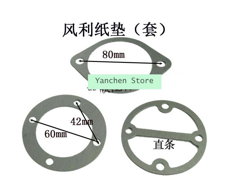 Air Compressor Cylinder Head Base Gaskets Washers 3 In 1