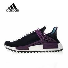 promo code c27f8 11f4d Adidas authentique officiel Hu Trail Holi Pack x Pharrell hommes chaussures  de course pour femmes Sport