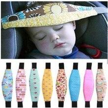 Детские коляски регулируемый ремень безопасности автомобильное сиденье головы поддержка спальный ремень коляска позиционер сна Крепежный ремень для ребенка случайный