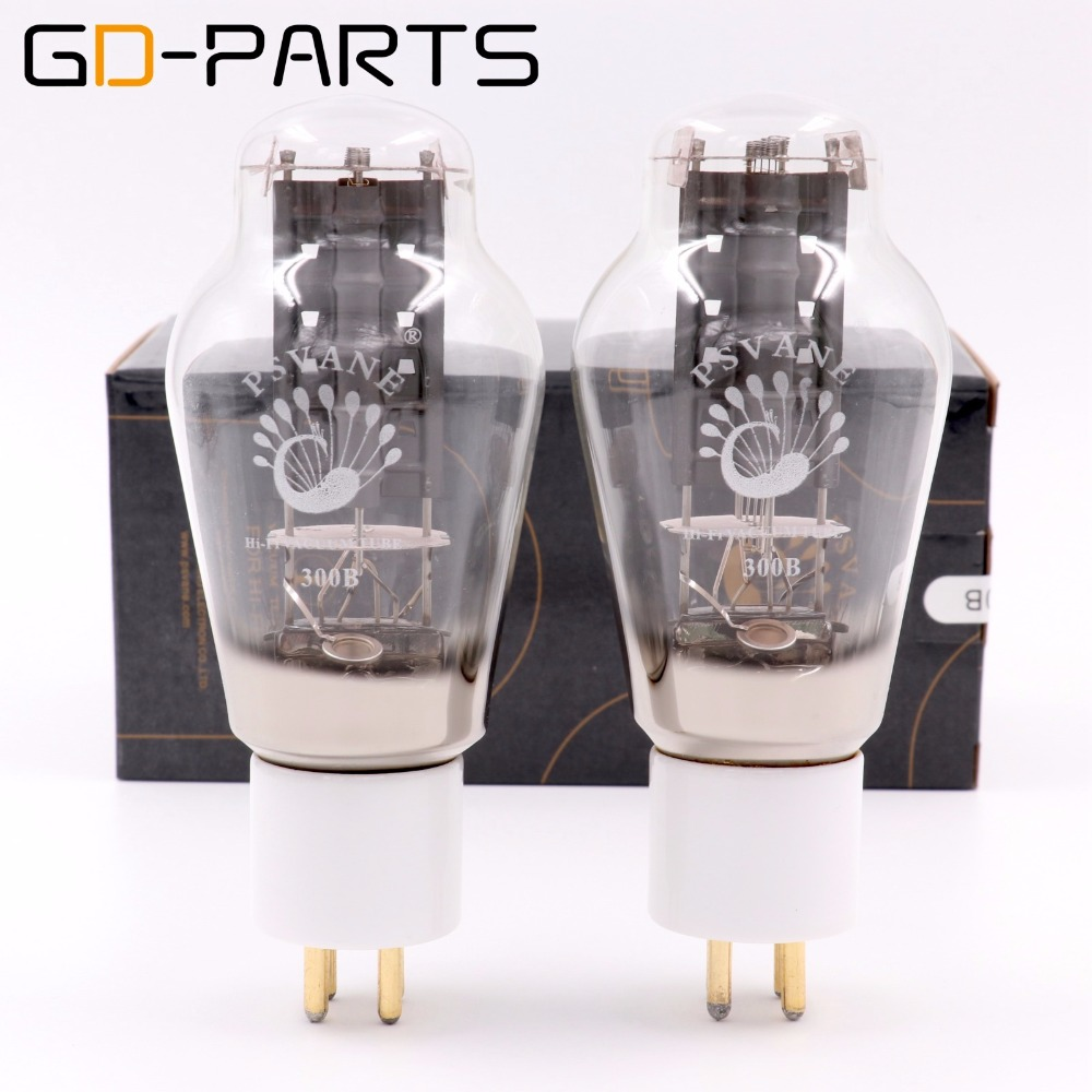 купить PSVANE Matched Pair HIFI 300B Vacuum Tube Electron Power Tube Hifi Audio Vintage Tube Amplifier DIY Original Factory Test Match по цене 10424.07 рублей