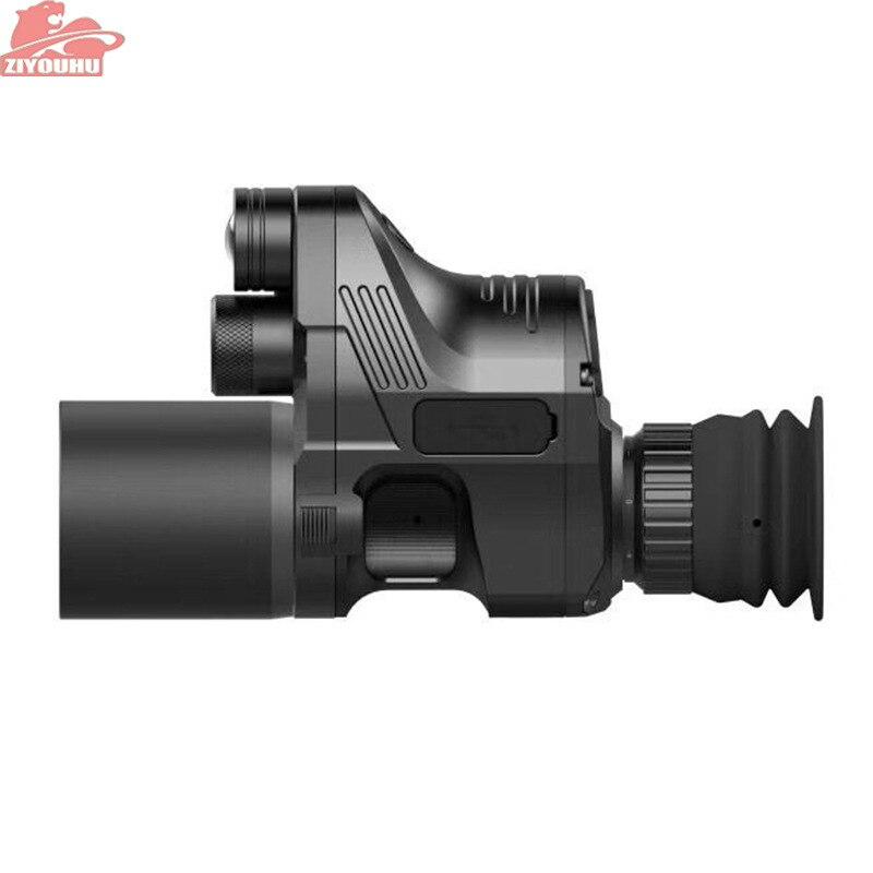 ZIYOUHU Visando Dispositivo Avistamento Telescope Camera Noite Digital de Visão Noturna Infravermelha Dia Noite Riflescope Sights Monte em Rifle