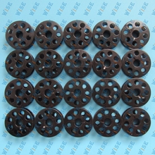 TACSEW T111-155 BOBBINS WITH HOLES M-STYLE 20PC WALKING FOOT PART#1803