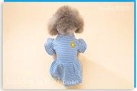 Puppy jurk teddy kleine hond pet rok prinses lente en zomer huisdier kleding gratis verzending