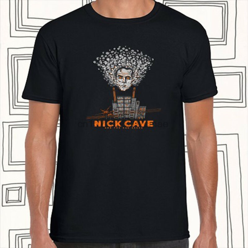 Nick Cave And The Bad Seeds Rock Band Men's Black T-Shirt Size S M L XL XXL XXXL
