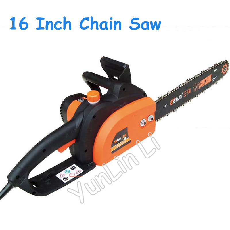 16 Inch Electric Chain Saw Handheld High Power Wood Saws Chain Wood Sawing Machine Pure Copper Motor 405A|Power Tool Sets| |  - title=