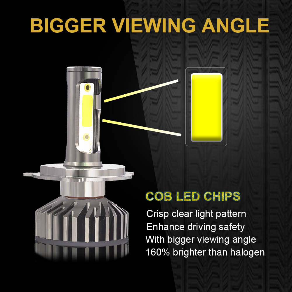 HTB1gmrXXLfsK1RjSszgq6yXzpXaK YHKOMS Canbus Car Headlight LED H4 H7 3000K 4300K 6500K 8000K LED Bulb H11 H8 H1 H3 9005 9006 880 881 H27 Auto Fog Light Lamp