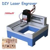 Free Ship By DHL 1pcs USB Engraver Mini Laser Engraving Machine DIY Laser Engraver 1000mw