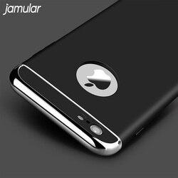 Étui rigide jamulaire pour iphone X 8 7 6 6 S Plus 5 5 S SE coque antichoc pour iphone 6 6 S 7 Plus sac Capa