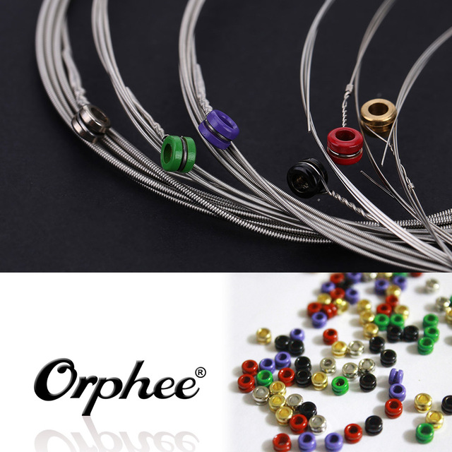 Orphee RX15 6pcs Electric Guitar String Set (.009-.042)  Nickel Alloy Super Light Tension High Quality Guitar Parts