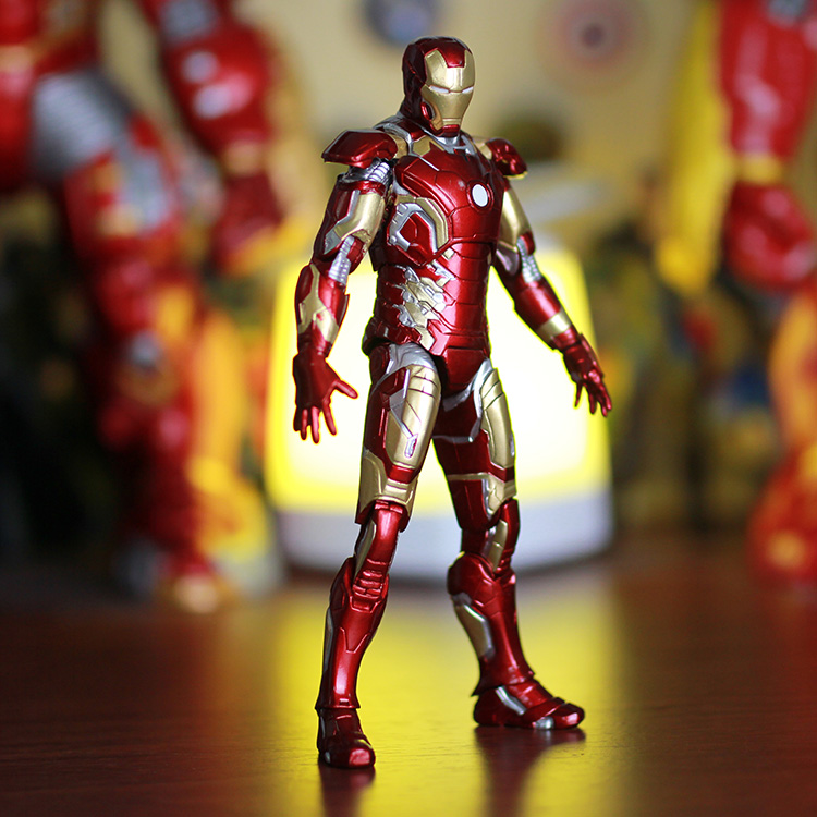 Toys For Gentleman : Iron man action figure toys cm high quality full joint