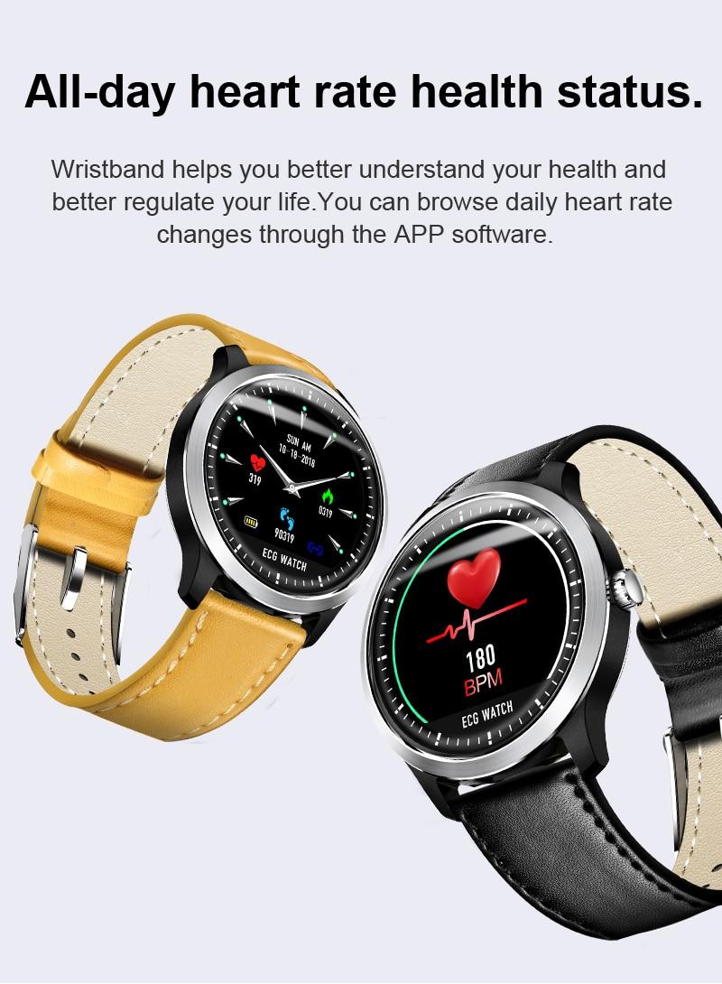 MAERKNON N58 Inteligente relógio IP67 exercício monitor