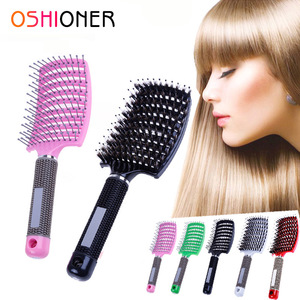 Oshioner Hair Detangling Comb Professional Hairdressing Brushes Combs Massage Women Comb Salon Styling Tamer Hair Scalp Massage(China)