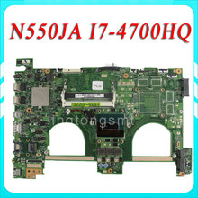 N550JA Laptop motherboard N550JV REV2.0 Mainboard Processor i7 4700HQ HD Graphics 4600 100% test