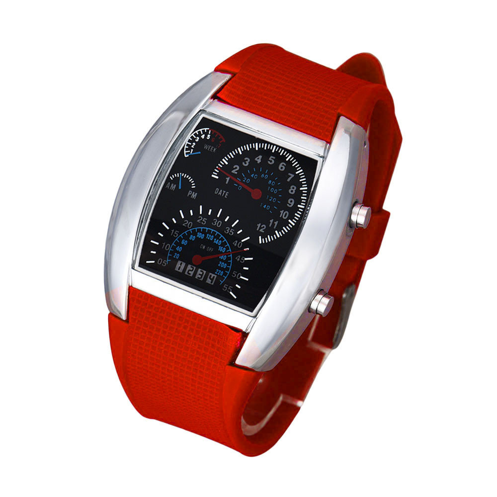 Watch Digital LED Electronic Watches Man Sports Watches Chronograph Men Clock Flash LED Watch Gift Mens Lady Sports relogio Gift