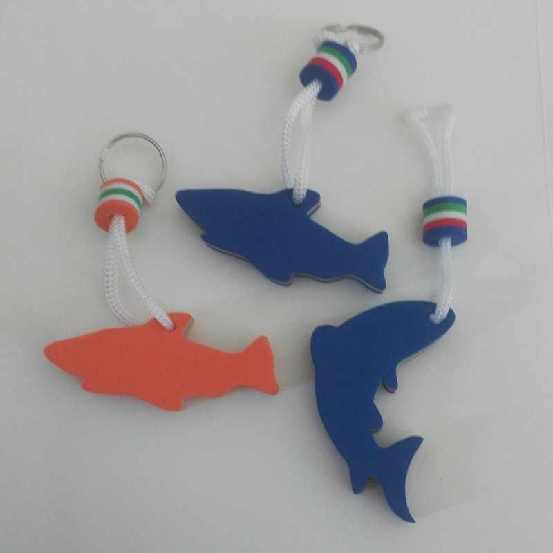 Seguridad de delfines y ancla flotante llavero agua flotante llavero para Canoa Kayak marino náutico navegación nadar playa