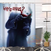 100% Polyester Custom Popular joker#2 Fabric Modern Shower Curtain bathroom Waterproof New arrival H0223-19