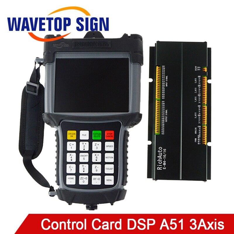 DSP A51 CNC routeur Machine contrôleur CNC routeur DSP CNC routeur Machine carte de contrôle 3 axes