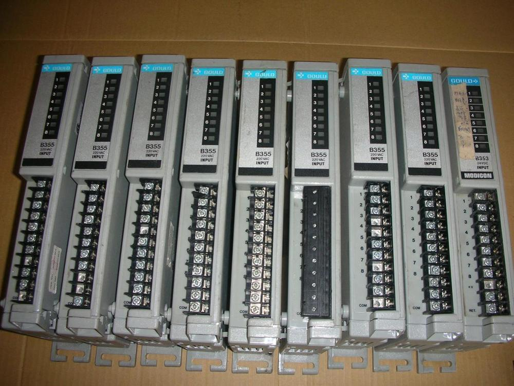 1PC USED Production of spare parts Modicon B355 B354 B374 Gould dhl ems gould modicon b355 b354 b374 a2