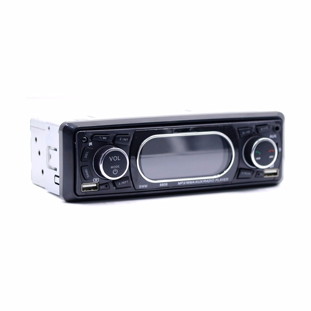 New Original Dashboard Display Car MP3 WMA AUX Radio Player Support USB Bluetooth Secure Digital Memory Card Function