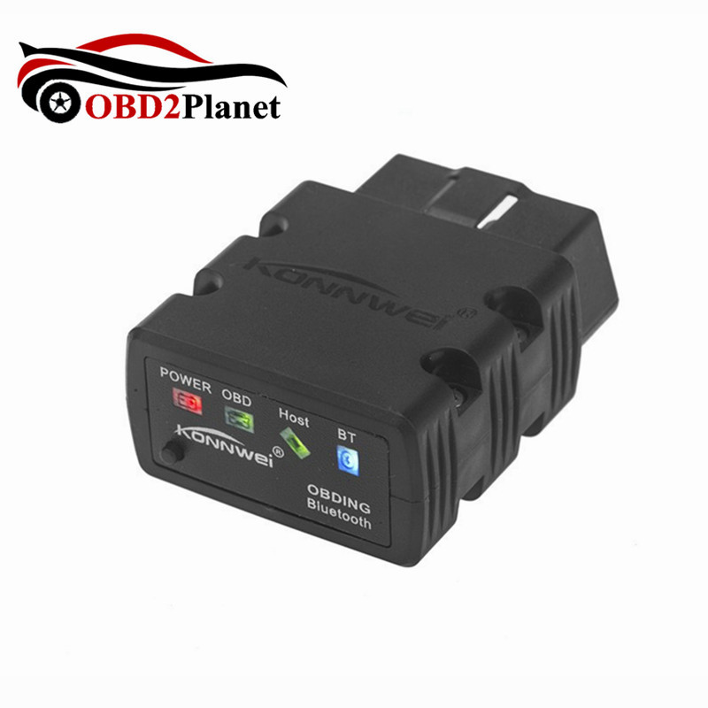 New Arrival Auto Scanner Konnwei KW902 ELM327 V1.5 Bluetooth / WiFi OBD2 OBDII CAN-BUS D ...