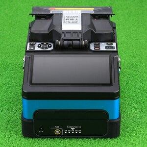 Image 2 - KELUSHI FTTH automatyczne połączenie światłowodowe Splicer maszyna FS 60F światłowodowe Splicers urządzenie do zgrzewania sklejania niebieski