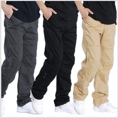 Black Military Cargo Pants Men | Gpant