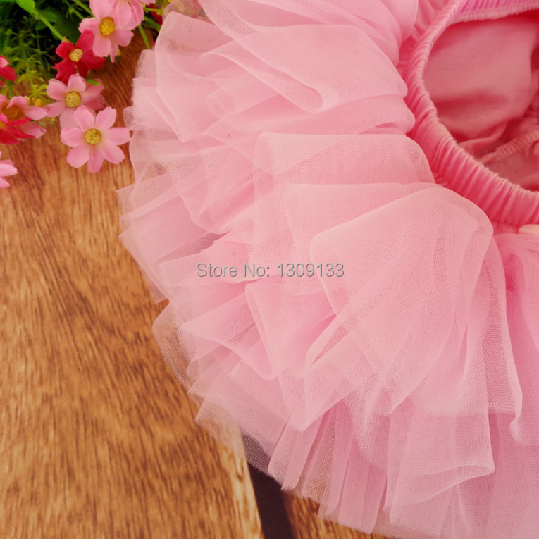 baby girl candy color half-length tulle tutu skirt 7 colors solid color fashion ball gown Culottes Skirt