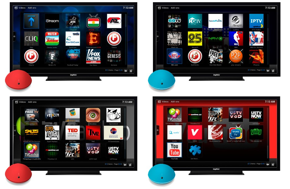 Inphic-Spot-i5-TV-Kodi-Video-Add-Ons