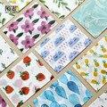 3 pcs/lot Cute Kawaii Flower Sulfuric Acid Paper Envelope For Postcard Kids Gift School Materials Free Shipping 823