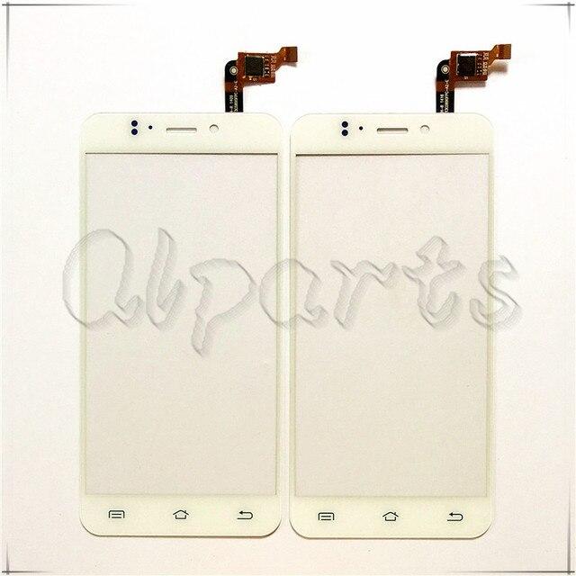 Garantia de branco Vidro Dianteiro Para JY S2 jiayu S2 Toque Sensor de Painel de Toque de tela de Substituição Digitador Para JIAYU S2 Móvel telefone