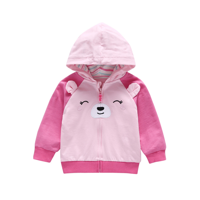 7f3f89a9bb2d 0 3 years spring autumn Children jackets kid girl cartoon hooded ...