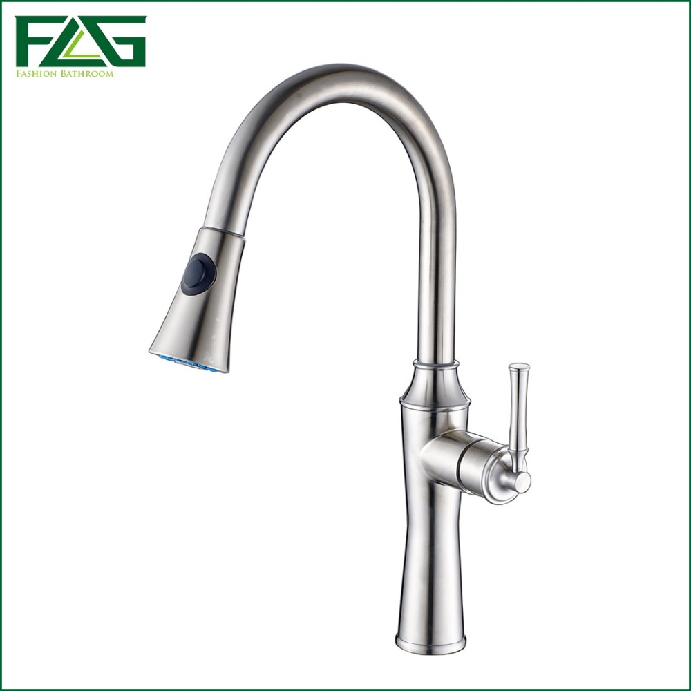 Kitchen Faucets Mixer Tap 304 Stainless Steel Hot and Cold Kitchen ...