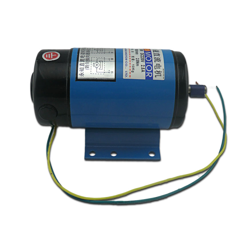 JS-ZYT20 DC permanent magnet motor power 1800 rpm and high torque variable speed reversing DC220V / 200W dc220v 200w 1800rpm high speed permanent magnet motor reversing variable speed mechanical equipment powered diy accessories