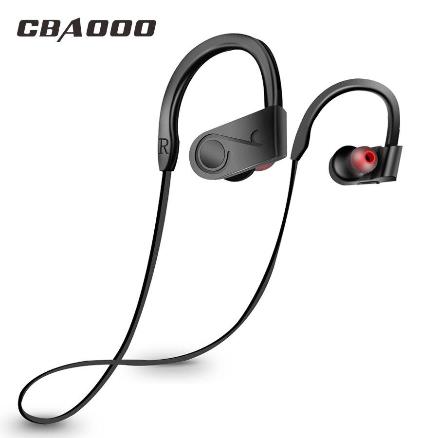 CBAOOO deportes inalámbrica Bluetooth auriculares Bass auriculares bluetooth auriculares con micrófono kulakl k para iPhone xiaomi teléfono