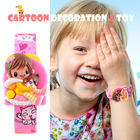 SKMEI Cartoon Watch Kids Creative Children's Digital Watches Kids Girls Students Doll Toys Watch Body Electronic Wristwatch Pink
