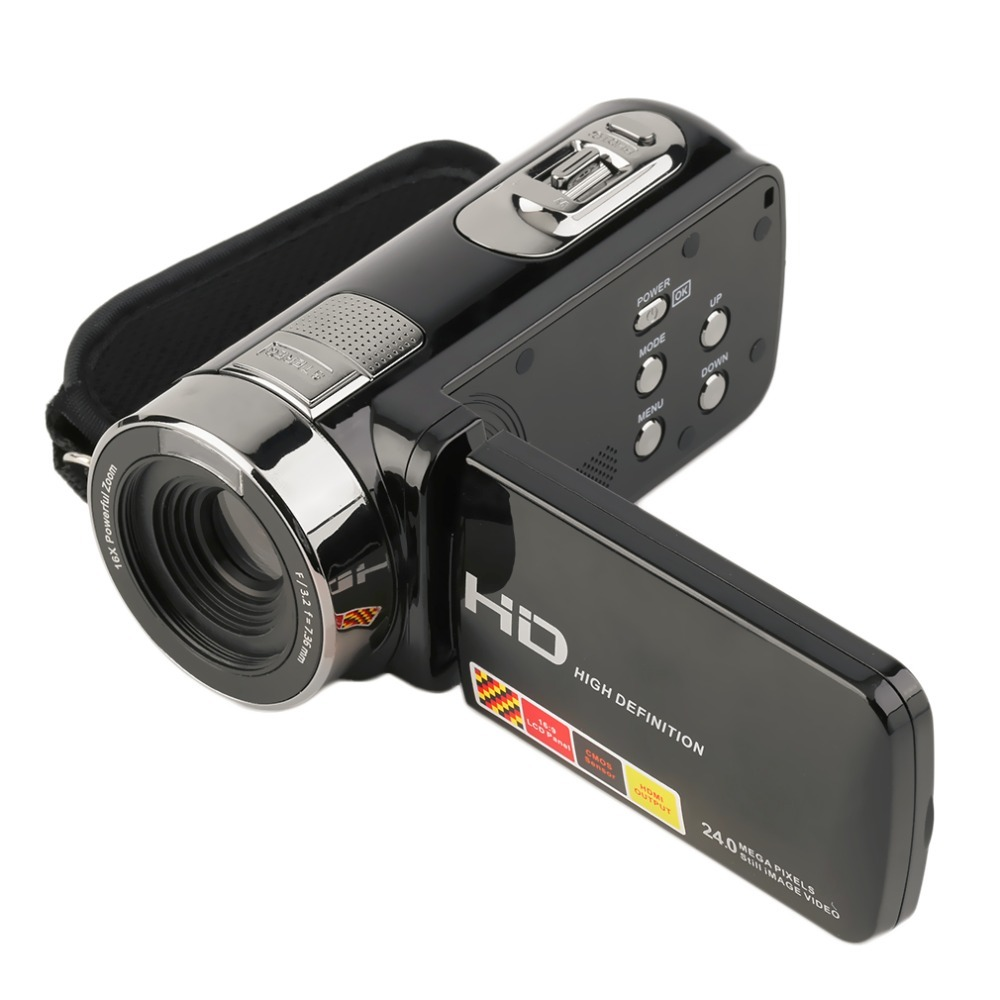 In Stock!Top Quality digital camera professional 3.0 inch FHD 1080P 16X 24MP Digital Video Camera Camcorder DV NEW Hot In Stock!